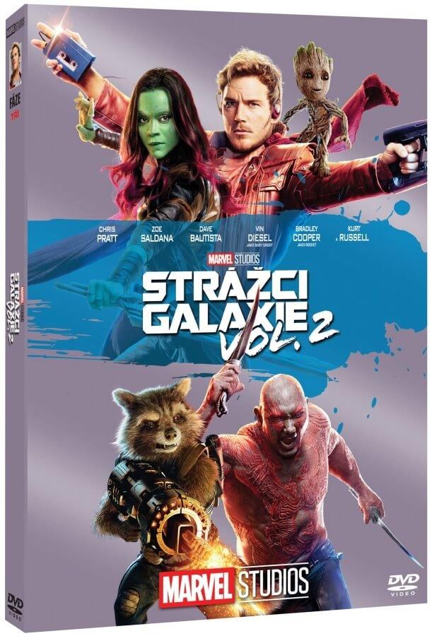 Strážci Galaxie 2 (DVD) - edice MARVEL 10 let