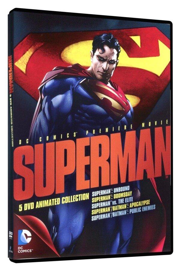 Superman Animated Collection (5 DVD) - bez CZ podpory