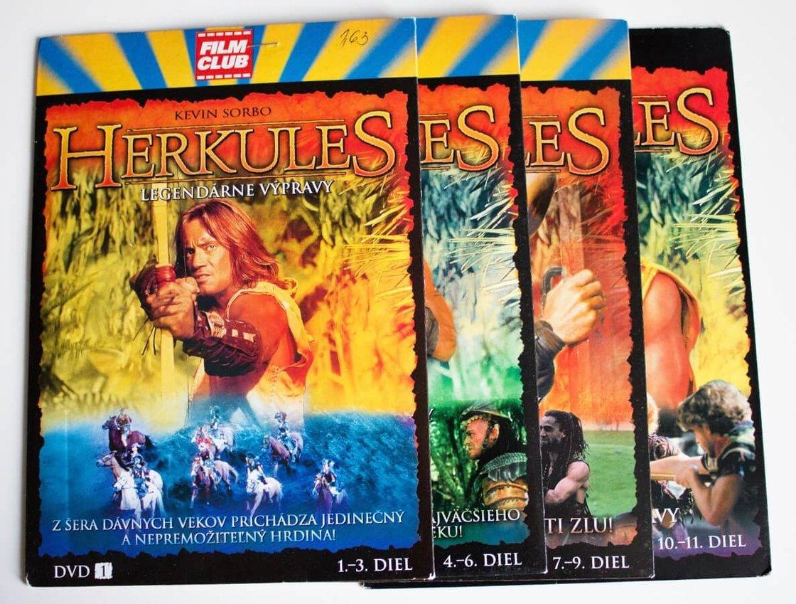 Herkules kolekce (4 DVD) (papírový obal) - seriál