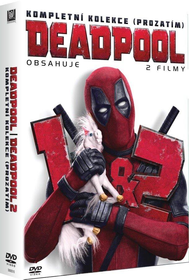 Deadpool 1-2 kolekce (2 DVD)
