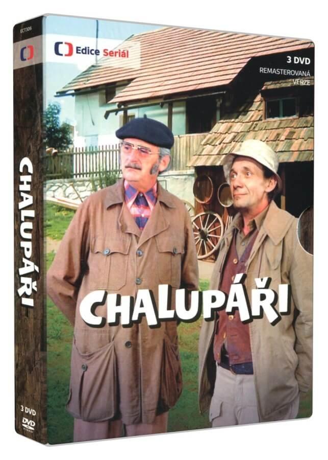 Chalupáři (3 DVD) - seriál - remasterovaná verze