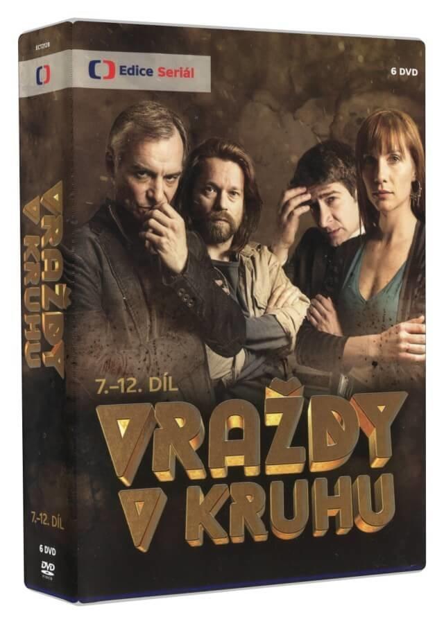 Vraždy v kruhu 7.-12. díl (6 DVD) - seriál