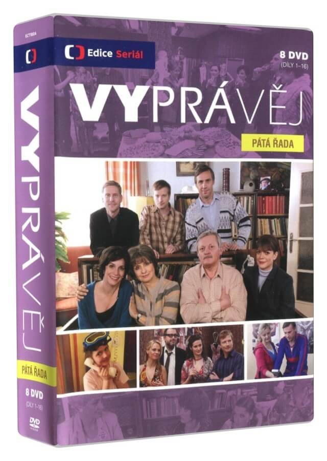 Vyprávěj - 5. série 1.-16. díl (8 DVD) - seriál