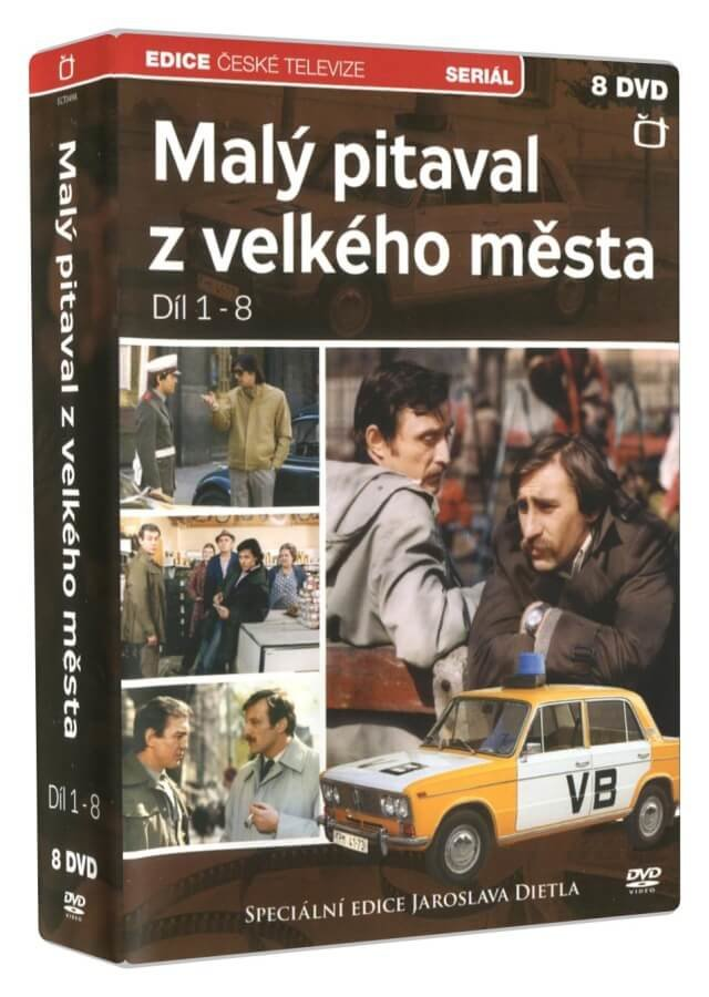 Malý pitaval z velkého města 1.-8. díl (8 DVD) - seriál