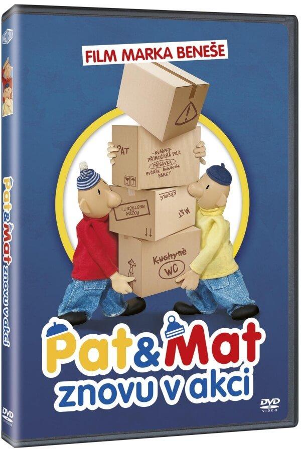 Pat a Mat znovu v akci (DVD)