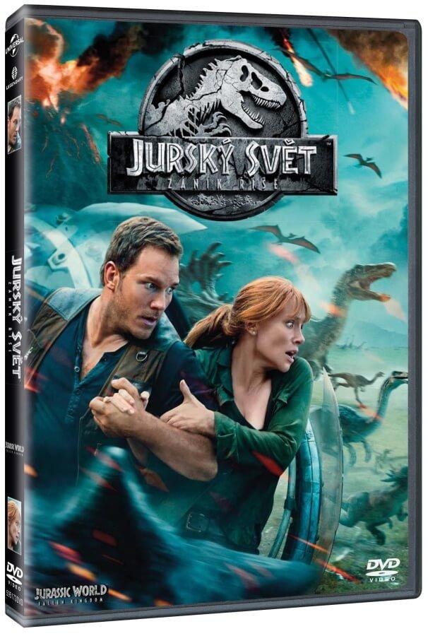 Jurský svět 2: Zánik říše (DVD)