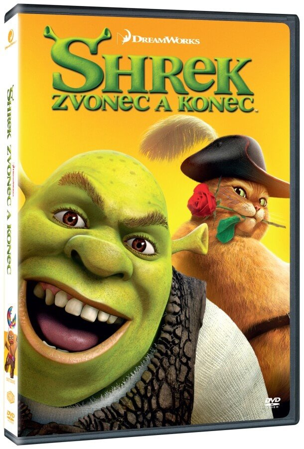 Shrek: Zvonec a konec (DVD) - edice BIG FACE II.