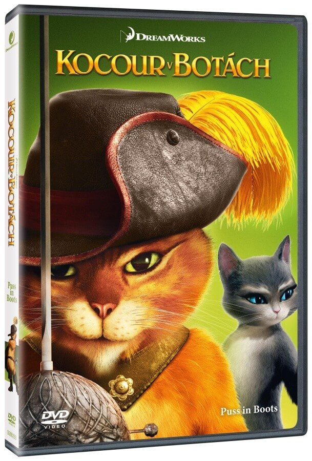 Kocour v botách (DVD) - edice BIG FACE II.