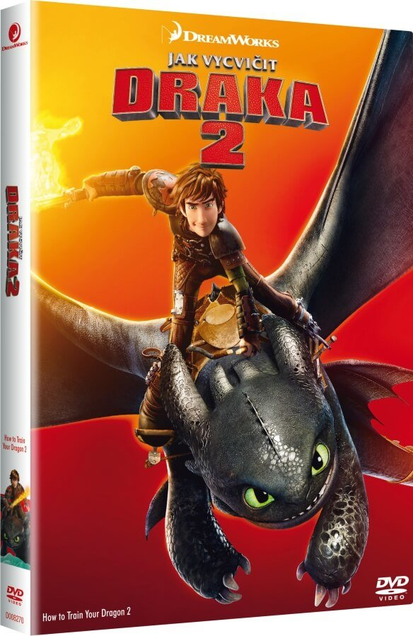 Jak vycvičit draka 2 (DVD) - edice BIG FACE II.