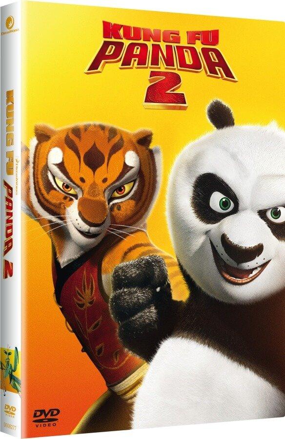 Kung Fu Panda 2 (DVD) - edice BIG FACE II.