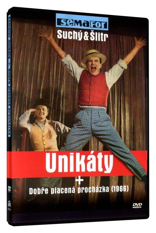 Semafor: Unikáty + Dobře placená procházka (1966) (DVD)