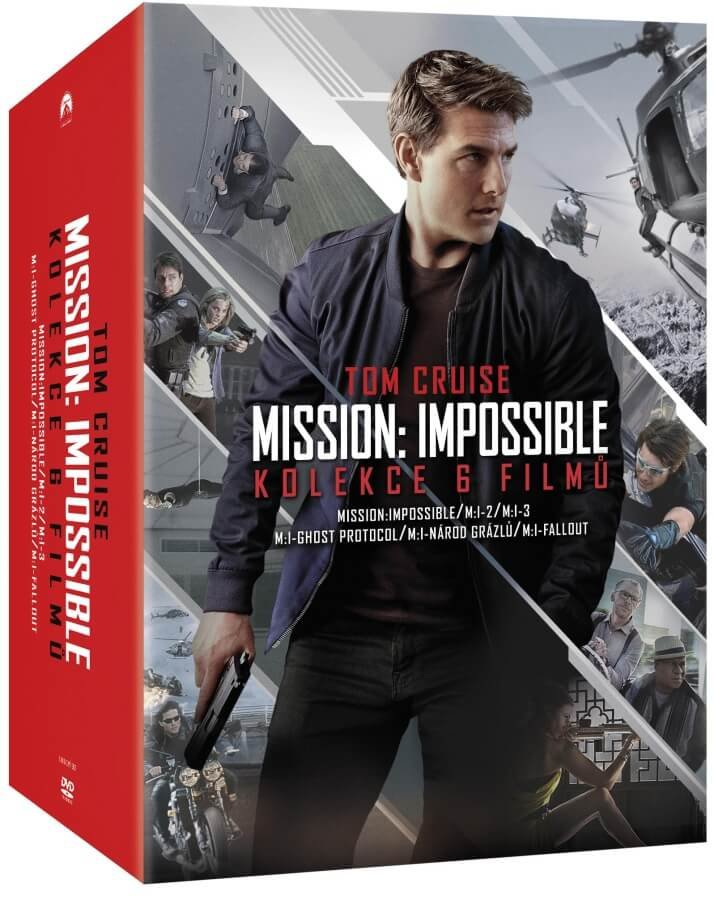 Mission: Impossible kolekce 1-6 (6 DVD)