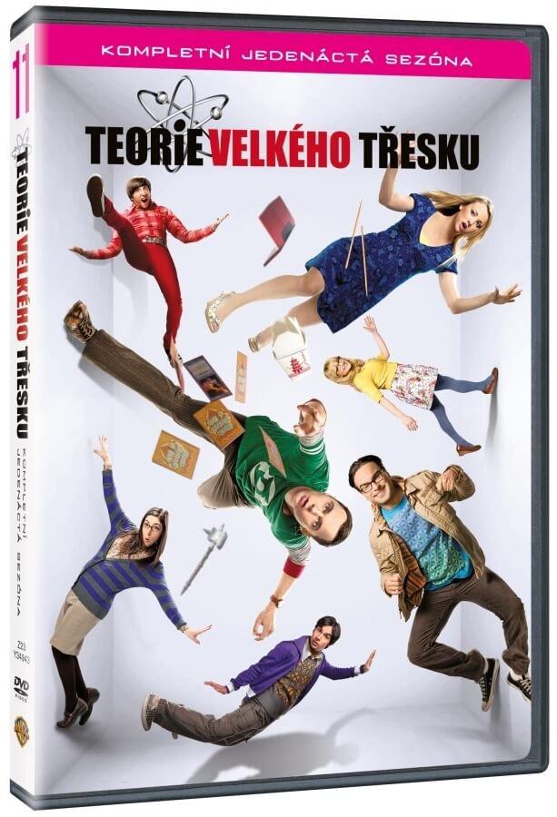 Teorie velkého třesku 11. sezóna - 2xDVD (český dabing)