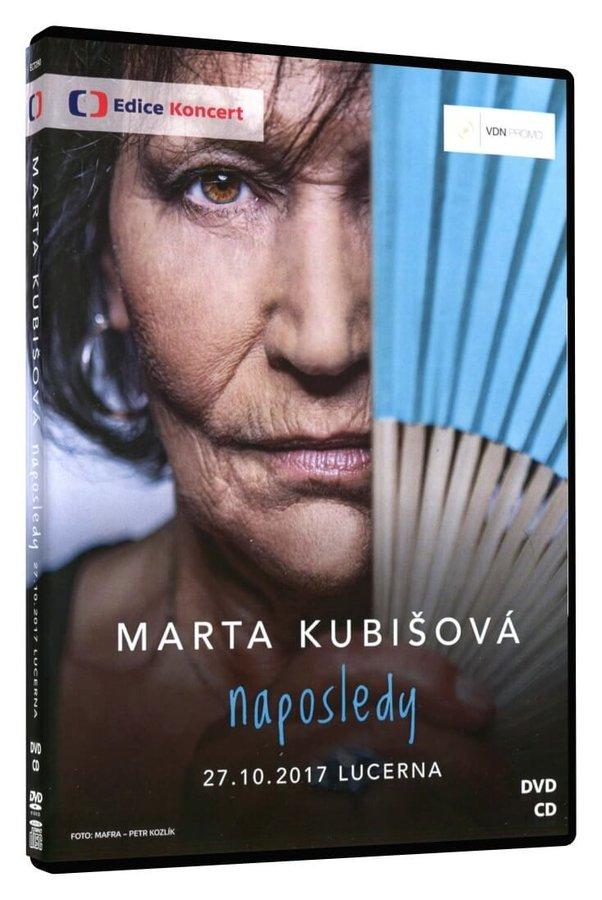 Marta Kubišová: Naposledy (DVD+CD) - záznam koncertu