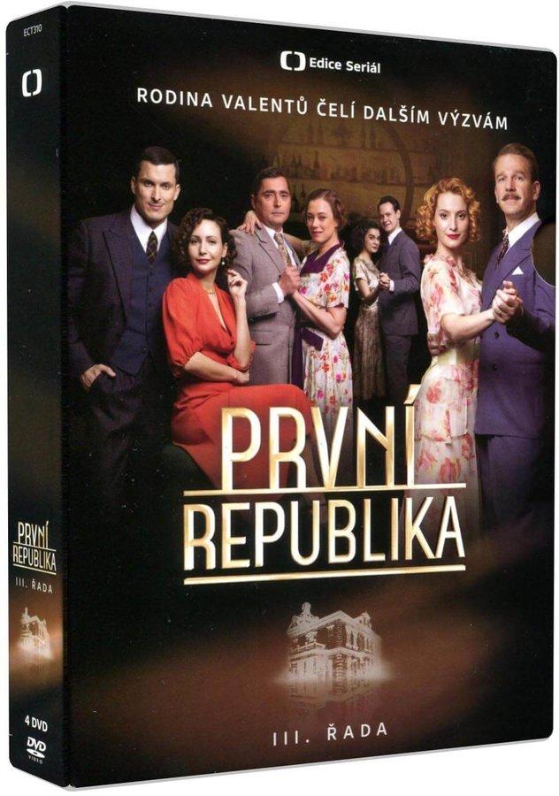 První republika - 3. série (4 DVD) - seriál Česká televize