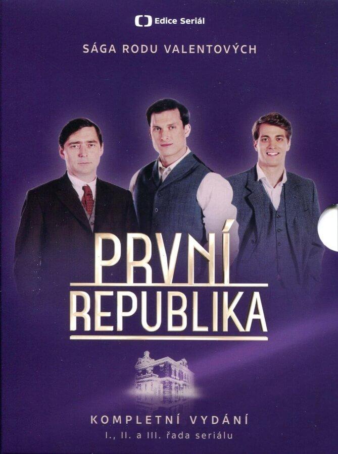 První republika 1-3. série (14 DVD) - seriál Česká televize