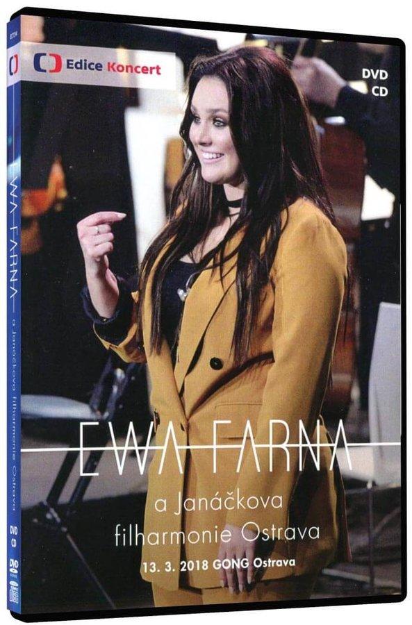 Ewa Farna a Janáčkova filharmonie Ostrava (DVD+CD) - záznam koncertu