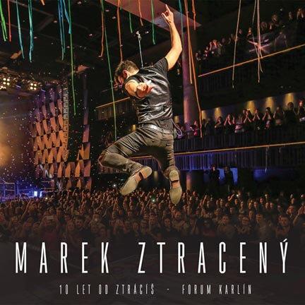 Marek Ztracený: 10 let od Ztrácíš - Forum Karlín (DVD) - záznam koncertu