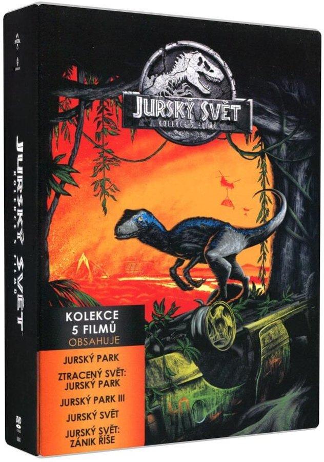 Jurský svět kolekce 1-5 (5 DVD)