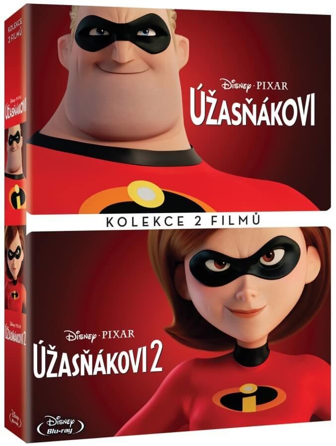 Úžasňákovi 1-2 kolekce (2 DVD)
