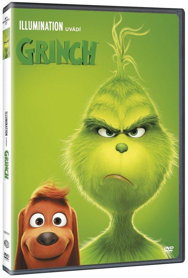 Grinch (2018) (DVD) - animovaný