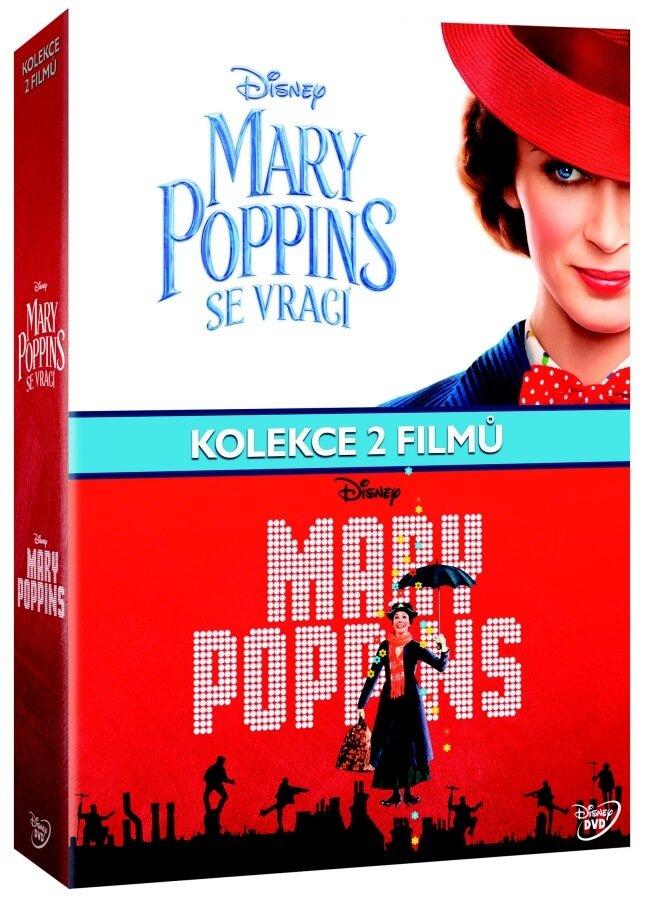 Mary Poppins kolekce (2 DVD+BONUS DVD)