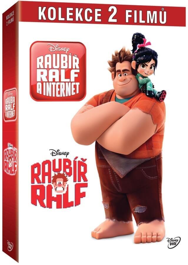 Raubíř Ralf kolekce (2 DVD)