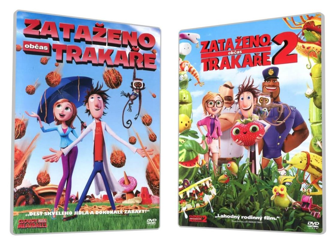 Zataženo, občas trakaře 1-2 kolekce (2 DVD)