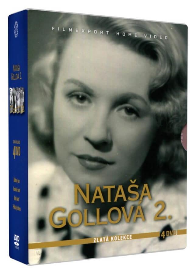 Nataša Gollová 2 - Zlatá kolekce (4 DVD)