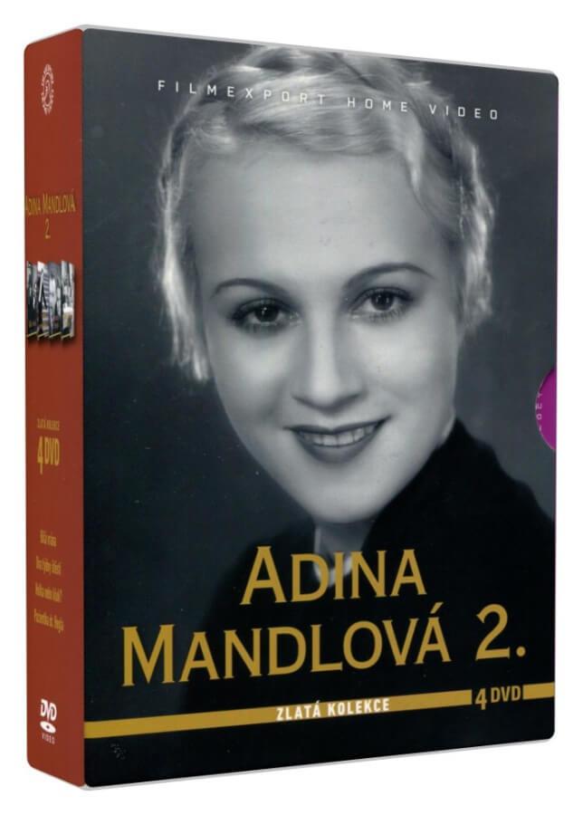 Adina Mandlová 2 - Zlatá kolekce (4 DVD)