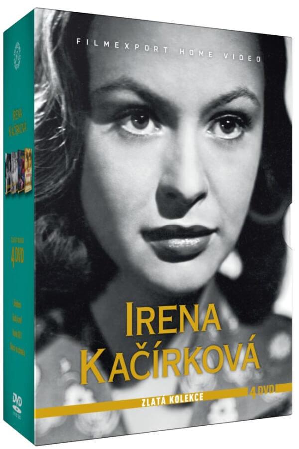 Irena Kačírková - Zlatá kolekce (4 DVD)