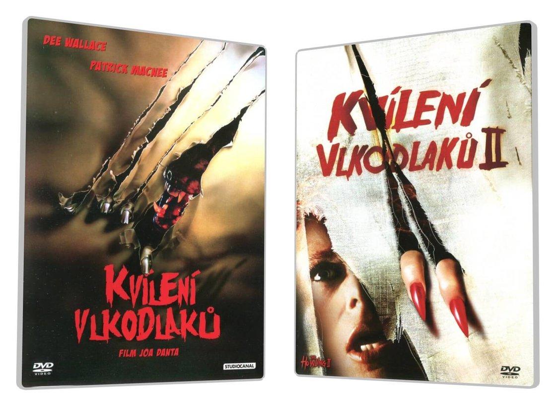 Kvílení vlkodlaků kolekce (DVD)