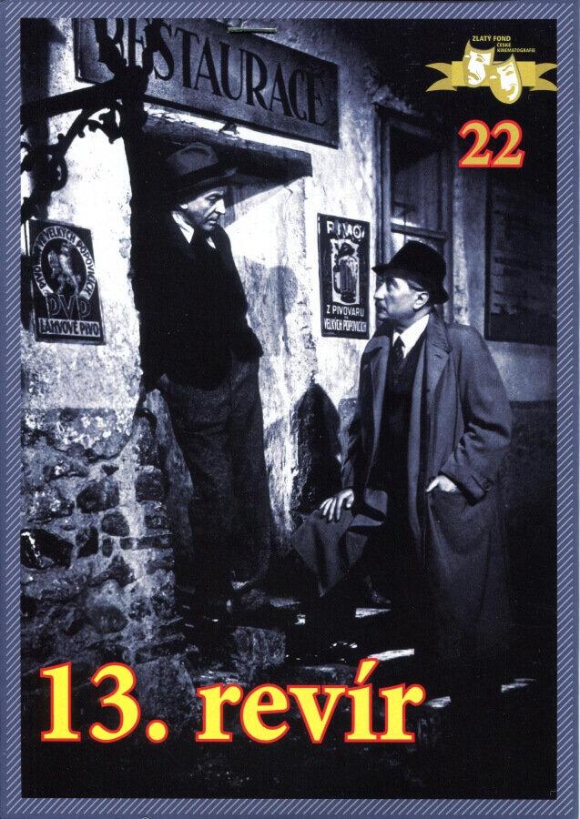 13. revír (DVD) (papírový obal)