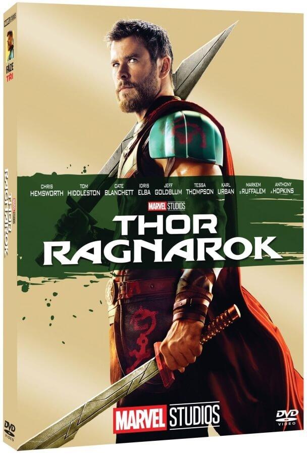 Thor 3: Ragnarok (DVD) - edice MARVEL 10 let