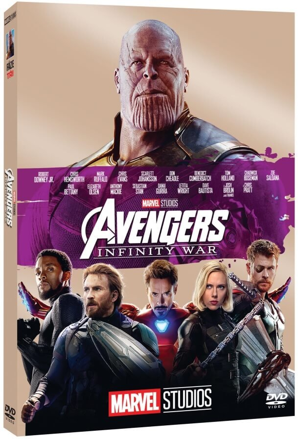 Avengers 3: Infinity War (DVD) - edice MARVEL 10 let