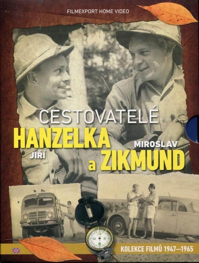 Cestovatelé Hanzelka a Zikmund - sběratelská kolekce (11 DVD)