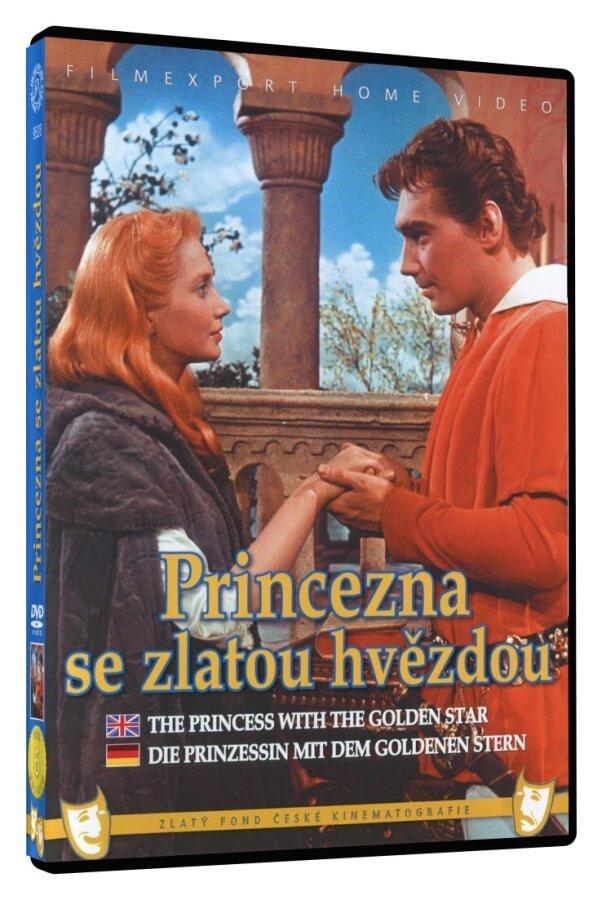 Princezna se zlatou hvězdou (DVD)