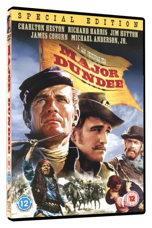 Major Dundee (DVD) - DOVOZ