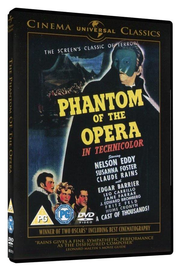 Fantom opery (1943) (DVD) - DOVOZ