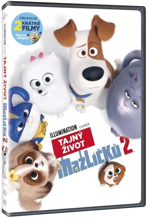 Tajný život mazlíčků 2 (DVD)