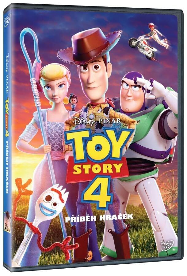 Toy Story 4: Příběh hraček (DVD)