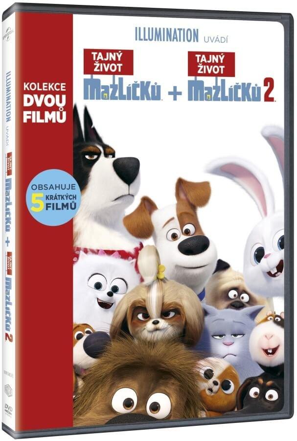 Tajný život mazlíčků kolekce (2 DVD)