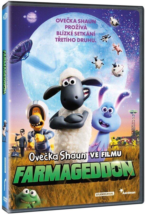 Ovečka Shaun ve filmu: Farmageddon (DVD)