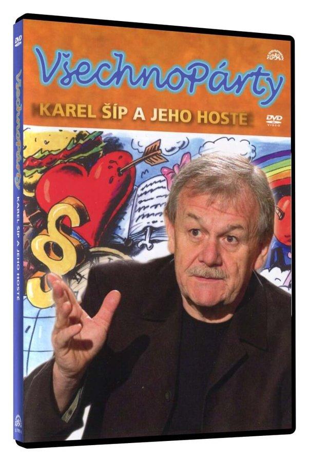 Karel Šíp: Všechnopárty (DVD)