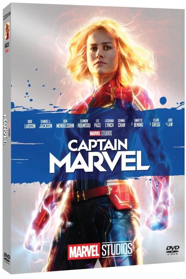 Captain Marvel (DVD) - edice MARVEL 10 let