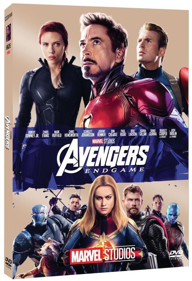 Avengers 4: Endgame (DVD) - edice MARVEL 10 let