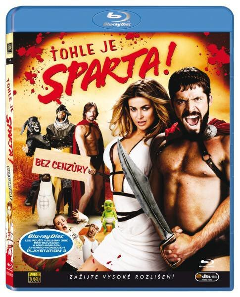 Tohle je Sparta! (BLU-RAY)