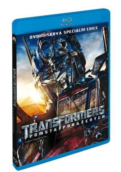 Transformers: Pomsta poražených (2xBLU-RAY)