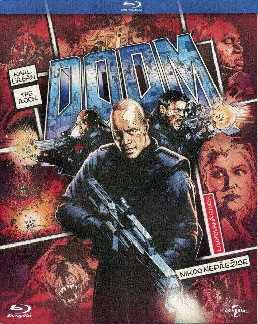 Doom (BLU-RAY) - komiksová edice