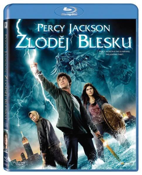 Percy Jackson: Zloděj blesku (BLU-RAY)